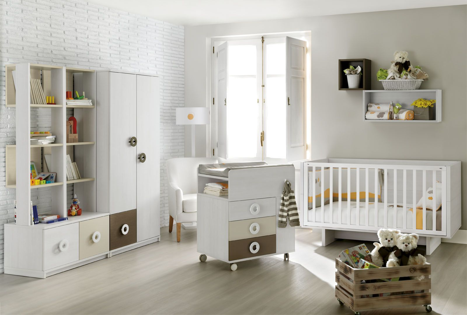 Cunas y convertibles Muebles Ros Kids Touch Mini